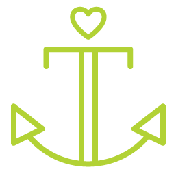 Anchor your identity (icon)